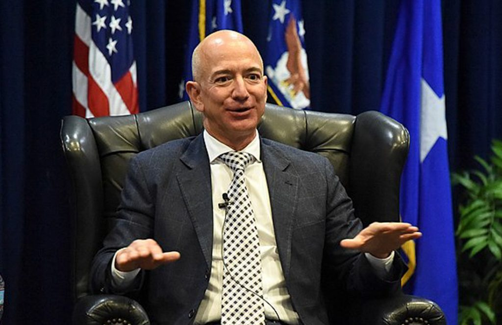 Jeff Bezos is obscenely rich. His personal fortune is larger than the GDP of a small country.
